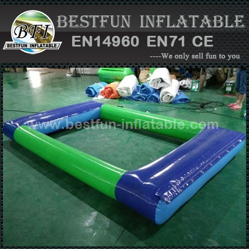 Inflatable pond water park