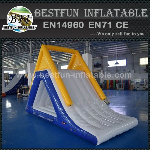 Inflatable Floating Water Slide