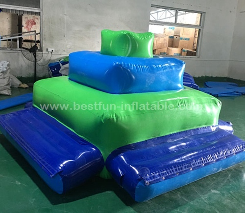 Hot selling Inflatable water deck float row