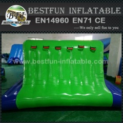 Water games inflatable cliff jump