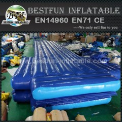 Water tumble mat inflatable aqua track