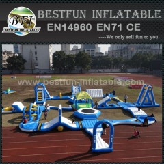 Open Water Inflatable Aqua Park