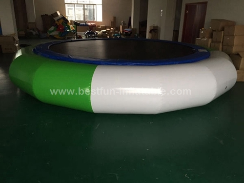 Inflatable Orbit Water Trampoline With Solid Net