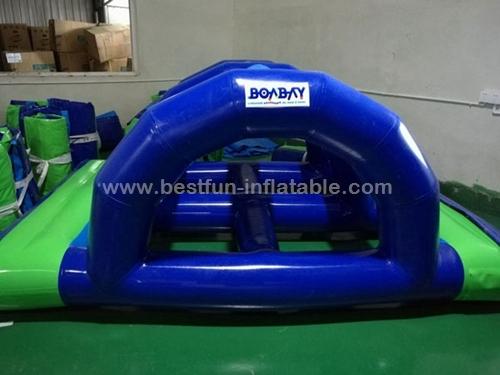 Inflatable water Bridge climbing for aqua park