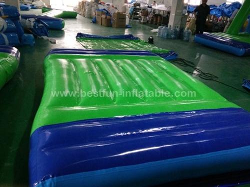 Inflatable Water Tube Trampoline Slide Raft