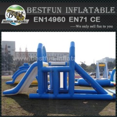 Water Park Giant Inflatable Floating Water Slide