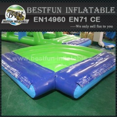 Inflatable water park game connection