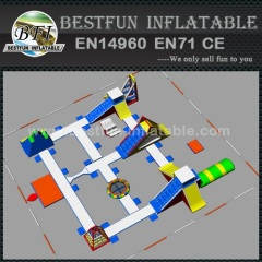 Low price inflatable water park