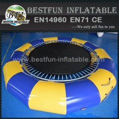 Spring Structure Inflatable Water Trampoline