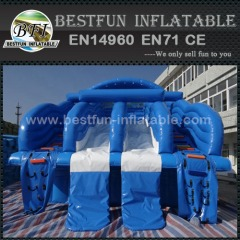 Large Pool Inflatable water Slide