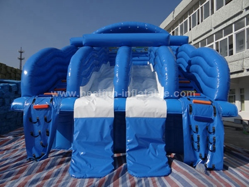 Small Family Swimming Pool Water Slide