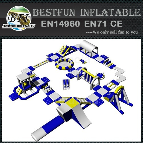 Water sport toys inflatable obstacle for rental