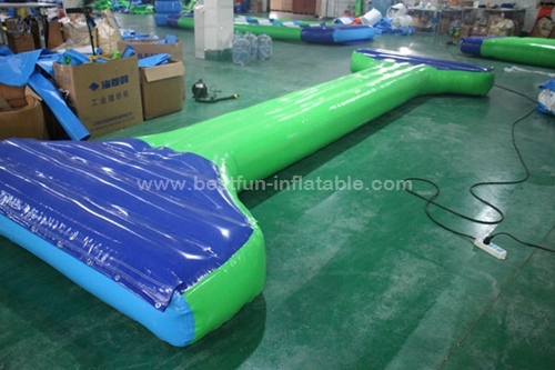 Water Games Inflatable Balance Beam Floating