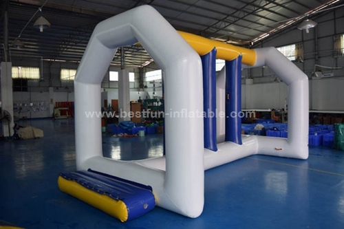 Water Runway Inflatable Water Obstacle Course