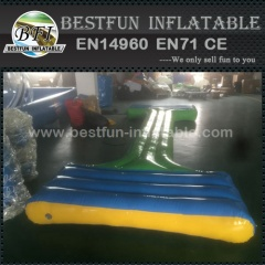 Inflatable balance beam water park