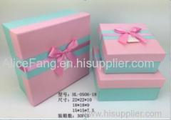 HL-0506-18 3pcs/set paper box
