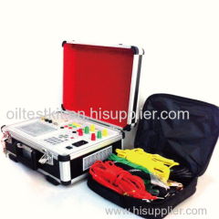 Power Transformer Load and No-load Characteristics Tester
