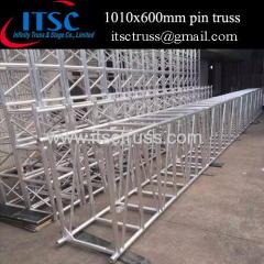 1010x600mm Aluminum square pin truss