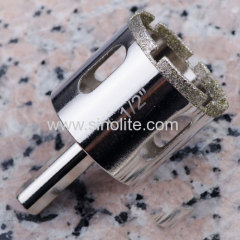 Diamond Electroplated Hole Saw for Porcelain Tile Granite Marble