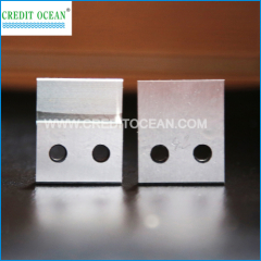 knife mould die set for lace tipping machine
