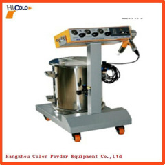 Colo-500Star Fluidizing Hopper Powder Coating Unit