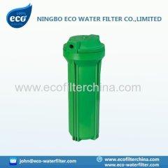 10 'groene gemeenschappelijke round cap water filterhuis