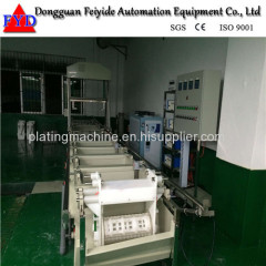 Feiyide Semi-automatic Galvanizing Barrel Plating Production Line for Screw / Nuts / bolts