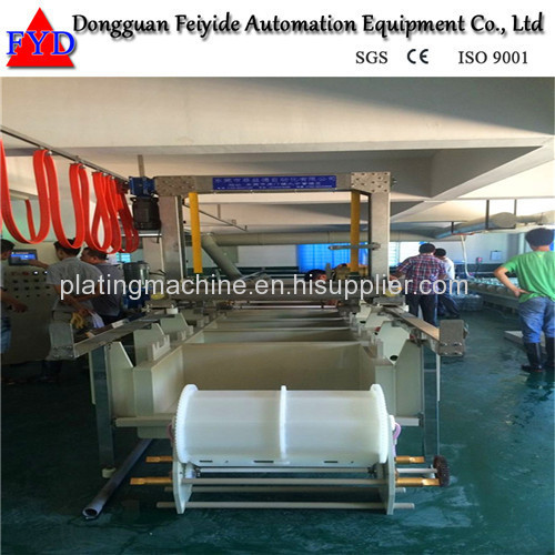 Feiyide Semi-automatic Copper Barrel Electroplating / Plating Machine for Screw / Nuts / bolts