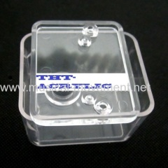 Clear Acrylic Cover For Clockwork Music Box