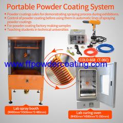 Sistema portatile di verniciatura a polvere