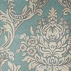 Deeply Embossing Damask Wallpaper