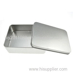 Sliver Tin Boxes With Lids