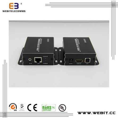 rail mount type IR transmiter IR receiver HDMI KVM extender