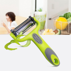 triple Blades 3 in 1 Multifunctional Rotary Vegetable and fruit Peeler