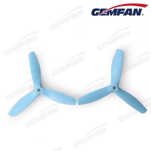 rc 3 blades 5050 glass fiber nylon bullnose CW propeller