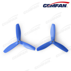 Good balance CW 5x5 3 blade bullnose glass fiber nylon propellers