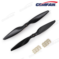 remote control aircraft 1045 black CW propeller