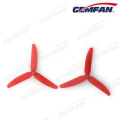 5x3 inch Propeller 3-Blade Props CW/CCW Multicopter for QAV250 Helicopter Drop shipping