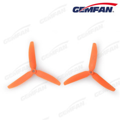 3 blade 5x3 inch glass fiber nylon rc quadcopter CW propeller kits