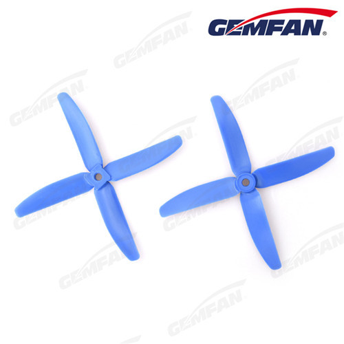 4 blade 5x4 inch Glass Fiber Nylon airplane model Propeller For Multirotor