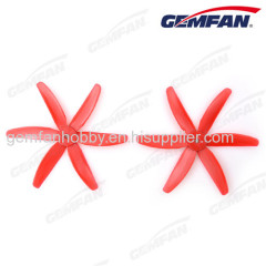 rc toys airplane 5x4 inch glass fiber nylon CCW Propeller with 6 blades
