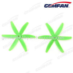 6 blade rc Glass Fiber Nylon 5x4 inch drone accessories props