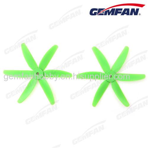 6 blade rc Glass Fiber Nylon 5x4 inch drone accessories props