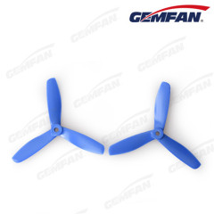 rc 5x4.5 inch glass fiber nylon CCW bullnose Propeller with 3 blades