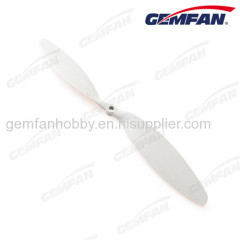 12x3.8 inch rc helicopter Glass fiber nylon propeller with 2 blade