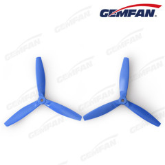 6x4 bullnose three blade 2 Pair glass fiber nylon CCW CW Propeller