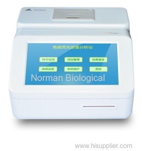 Fluorescence immunoassay analyzer ( POCT)