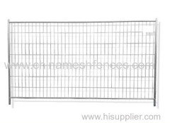 Temporary Fence Round Top Heras Style Security Site Fencing Set Anti Climb