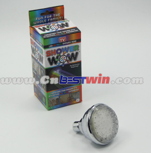 As seen on TV Led Rainbow colors changing Shower Head Shower Wow