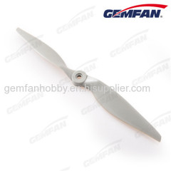 gray glass fiber nylon electric 10x7 1070 aircraft spare parts propeller props